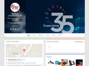 Tele-Verse Google+ Layout